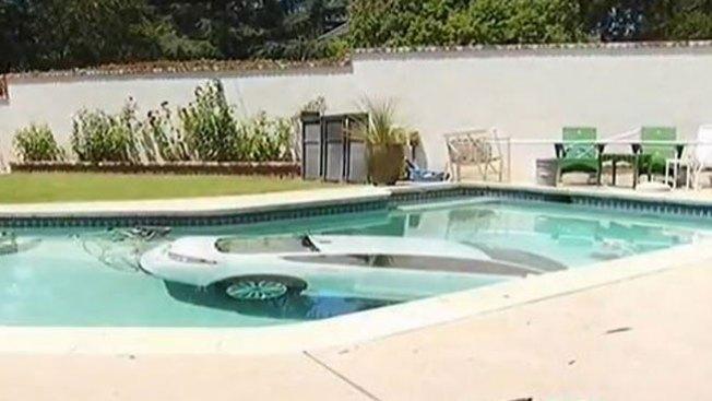 Gran susto en una piscina residencial