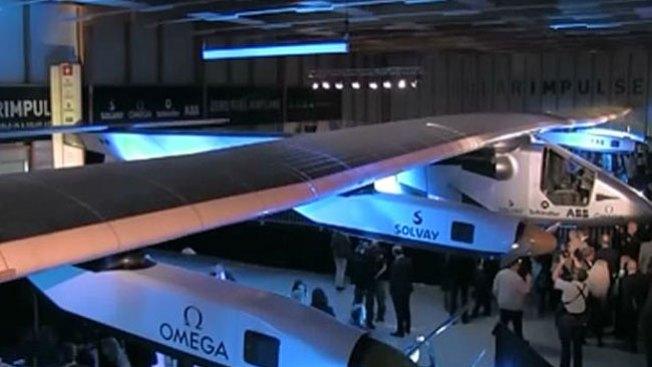 Darán vuelta al mundo en avión solar