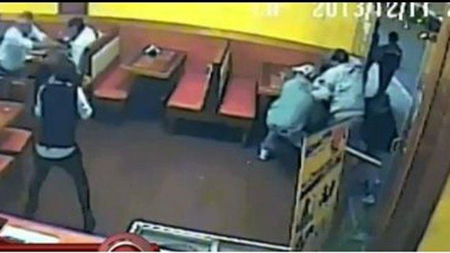 Impacto: balacera en pleno restaurante