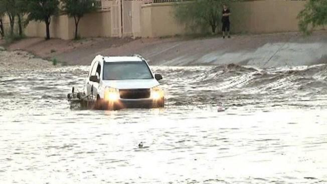 Rescate en las aguas de Tucson