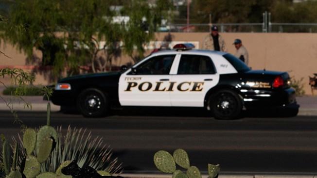 Peligran señales de tránsito en Tucson