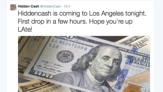 "En Los Angeles, dinero de ""Hidden Cash"""