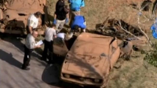 Presa escondía 2 autos y 6 cadáveres