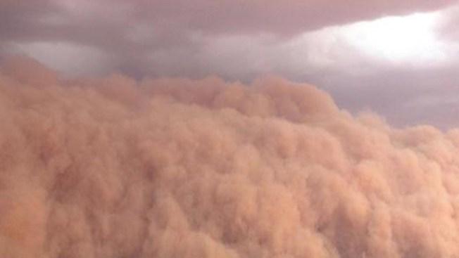 Alertan sobre tormenta de arena