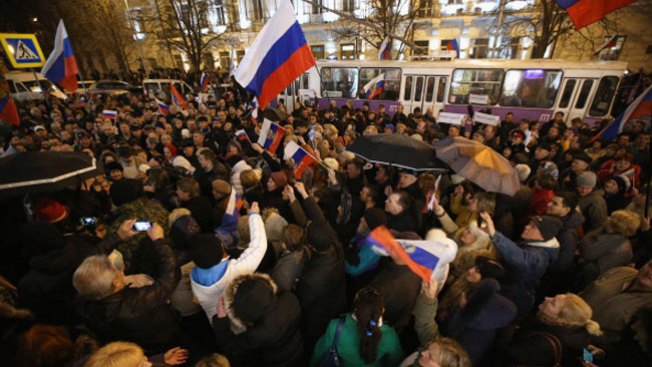 Crimea: 97% quiere adhesión a Rusia