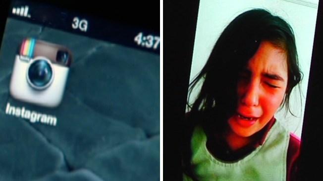 Duro castigo para niña por cuenta en Instagram