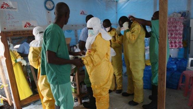 Ébola: Liberia recibe ayuda de EE.UU
