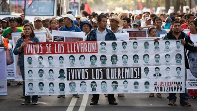 México: Marcha por 43 desaparecidos