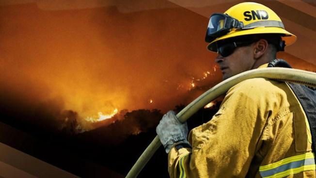 Terror por incendio en casa de Phoenix