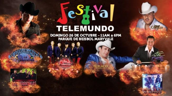 Te invitamos al Festival Telemundo 2014
