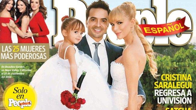 Luis Fonsi muestra su boda en People