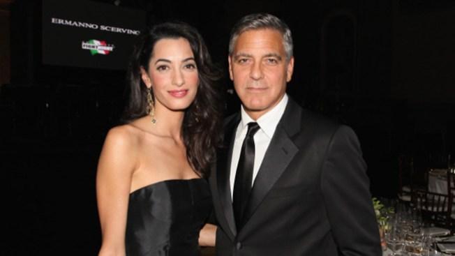 Clooney se relaja antes de su boda