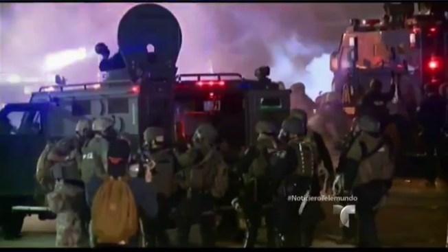 Ferguson: una noche más tranquila