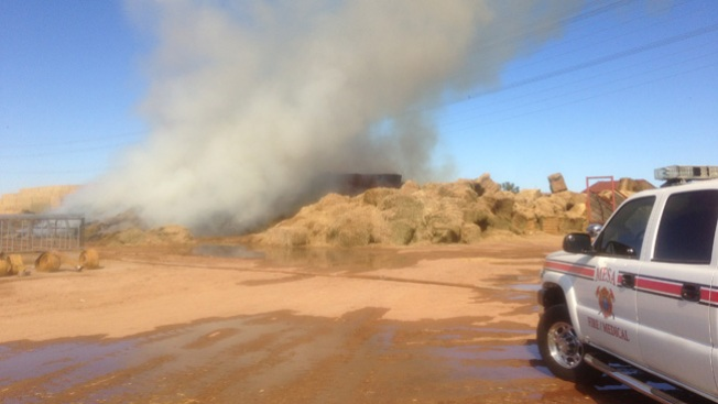 Incendio masivo alerta a comunidad
