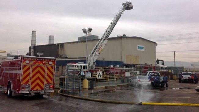 Phoenix: Incendio alerta a trabajadores