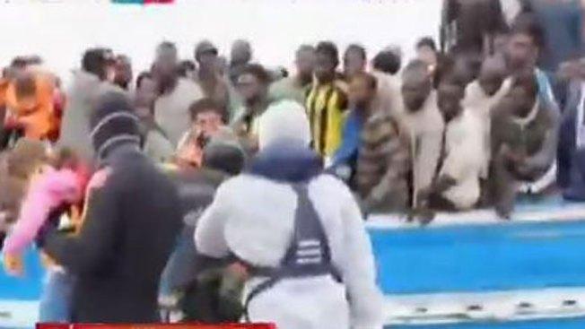 Trágico rescate de inmigrantes en Italia