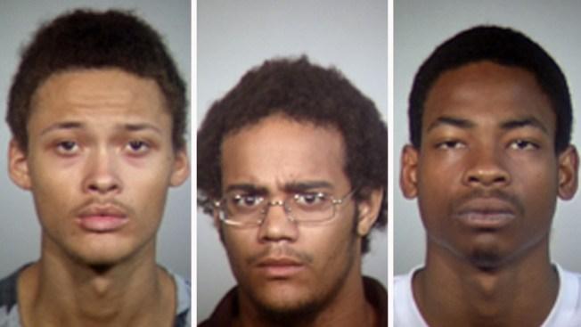 Arrestados por serie de crímenes