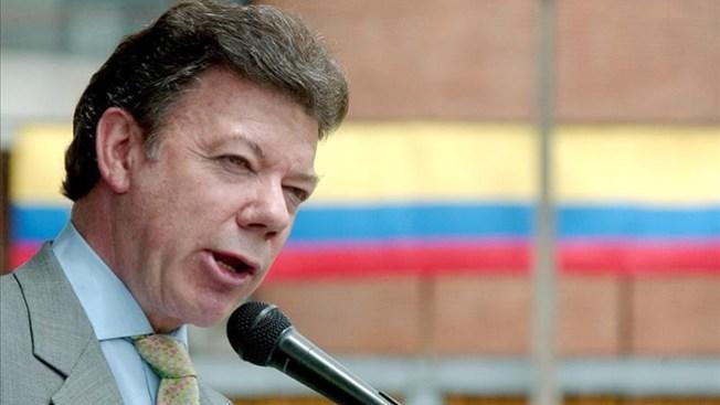 Colombia: Santos quiere educación y paz