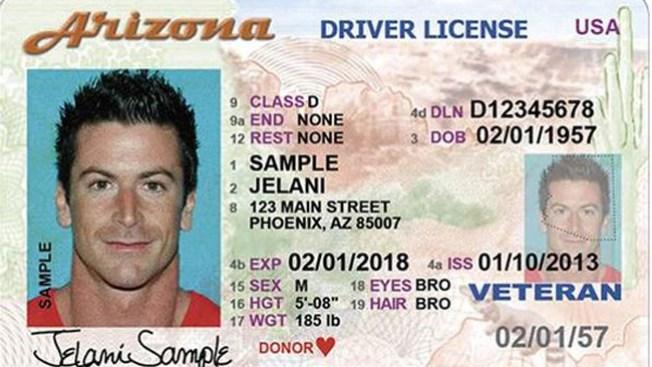 Nueva licencia impide fraude en Arizona