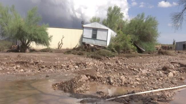 Continúan las lluvias en Arizona