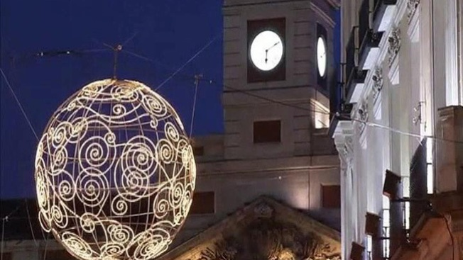 Madrid vestida de Navidad
