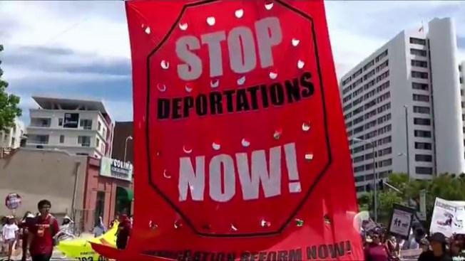Protesta nacional contra deportaciones