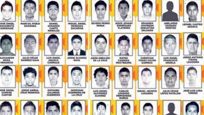 Iguala: las fosas no eran de estudiantes