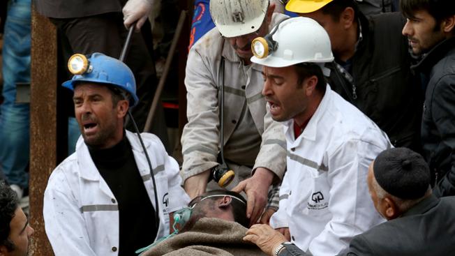 Casi 300 muertos en mina de carbón