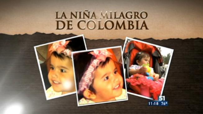 La niña milagro de Colombia