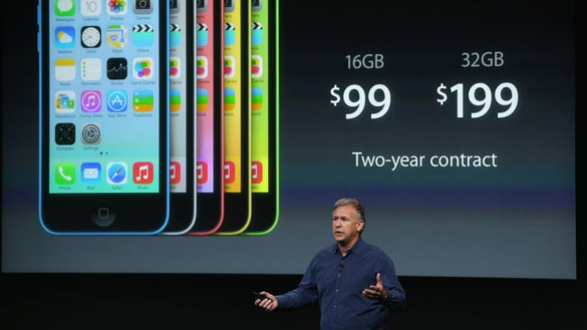 Apple devela el iPhone 5S y 5C