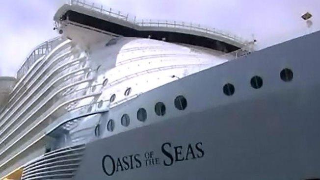 Así es el crucero más grande del mundo