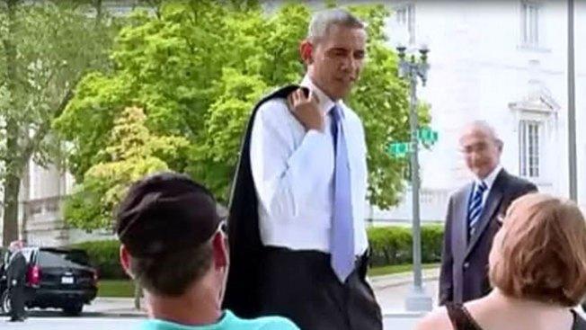 ¿Qué haría si viera a Obama por la calle?