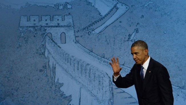 El gesto de Obama que enfurece a chinos