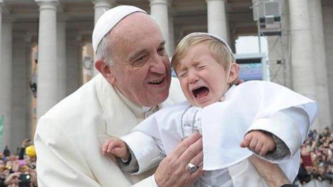 """El papa Francisco ya tiene su """"mini me"""""""