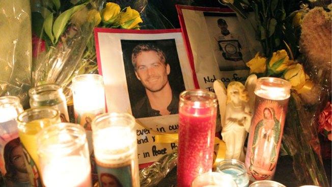 Vigilia para Paul Walker y Roger Rodas