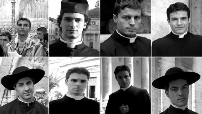 Sacerdotes despiertan pasiones