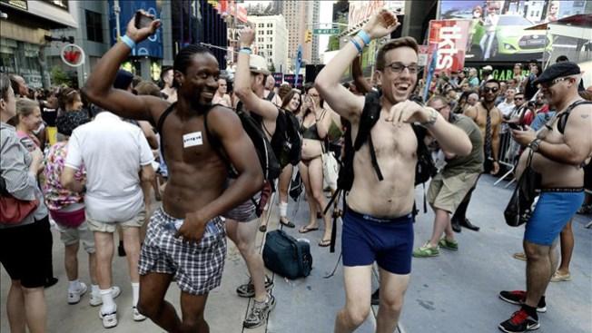 Derroche de desnudez en Nueva York