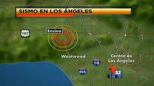 Regresa la calma tras fuerte sismo en L.A.
