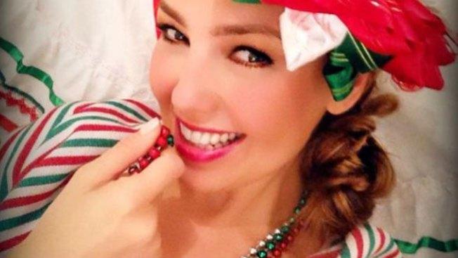 Thalía, sexy mexicana de pies a cabeza