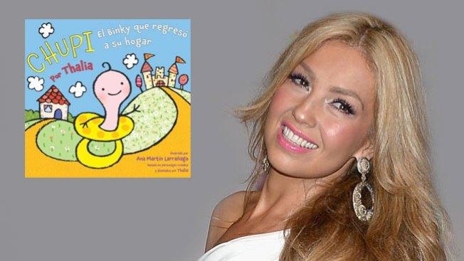 Thalia ahora escribe para niños