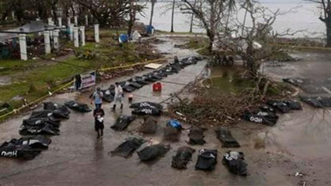 Dos americanos entre muertos del tifón