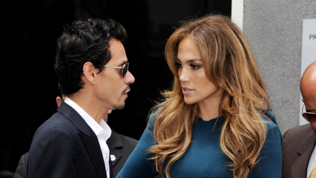 Peleas entre JLo y Marc Anthony