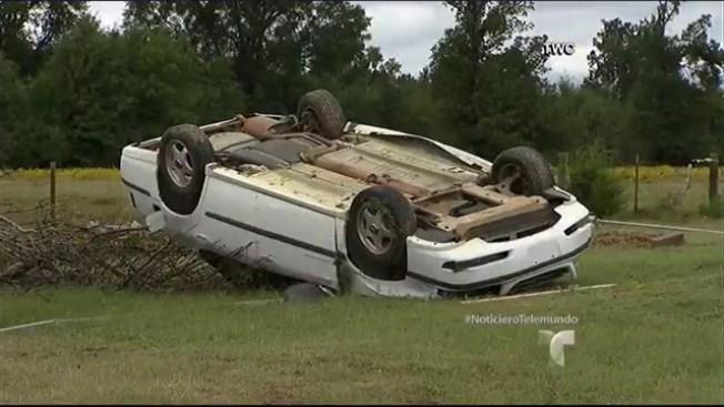 Dos muertos a causa de tornados