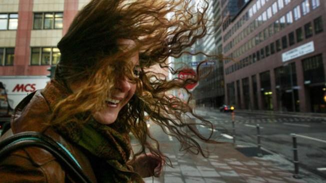 Fuertes vientos azotan California