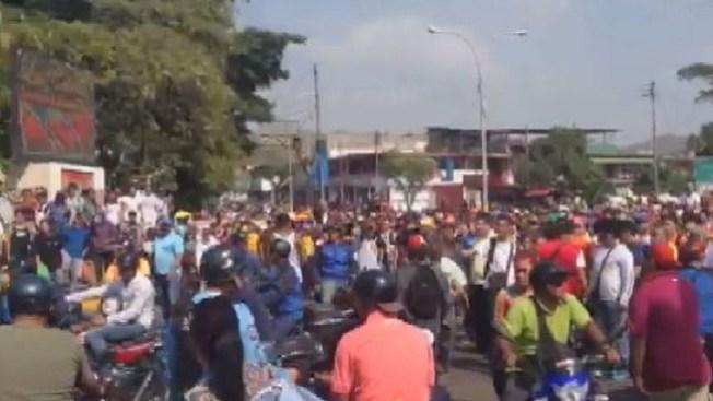 Sigue la tensión y la crisis en Venezuela