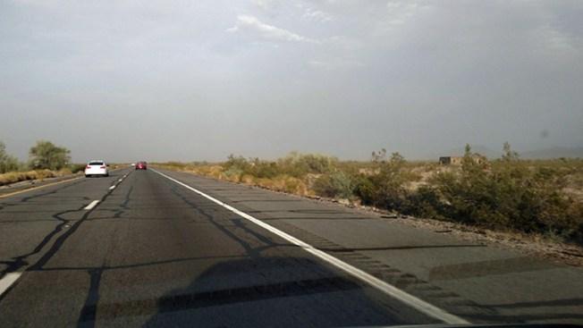 Comunidad en alerta tras segunda tormenta de polvo