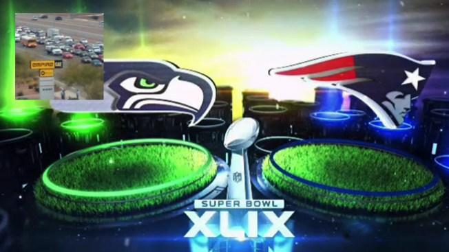 Tráfico de Super Bowl afectará a conductores