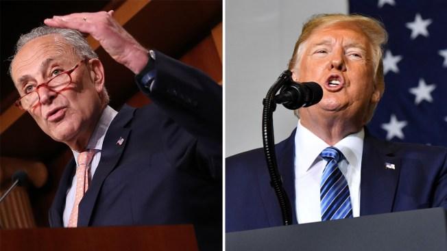 Demócratas exigen a Trump fondos del muro para combatir la violencia armada
