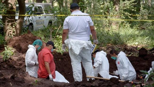 México, país de fosas: localizan 222 en cinco meses