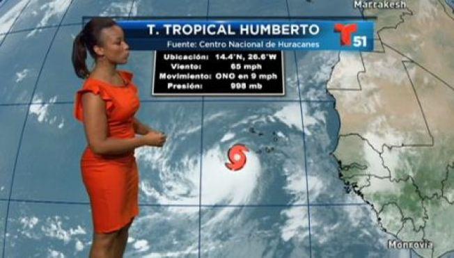 Humberto podría convertirse en huracán